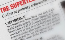 Ben Towers – Named the 'Most powerful teen on the planet'